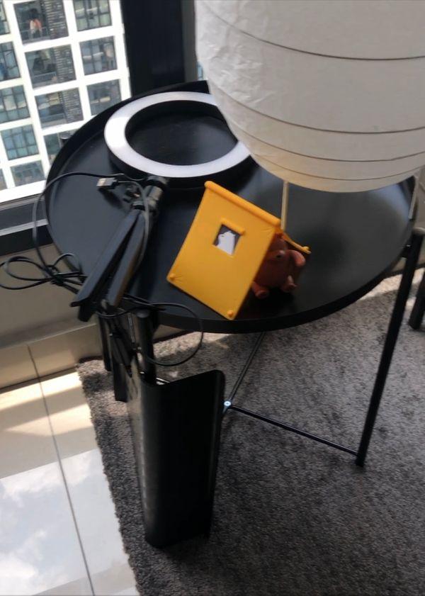 Table Height Photoshoot + Streaming Lighting