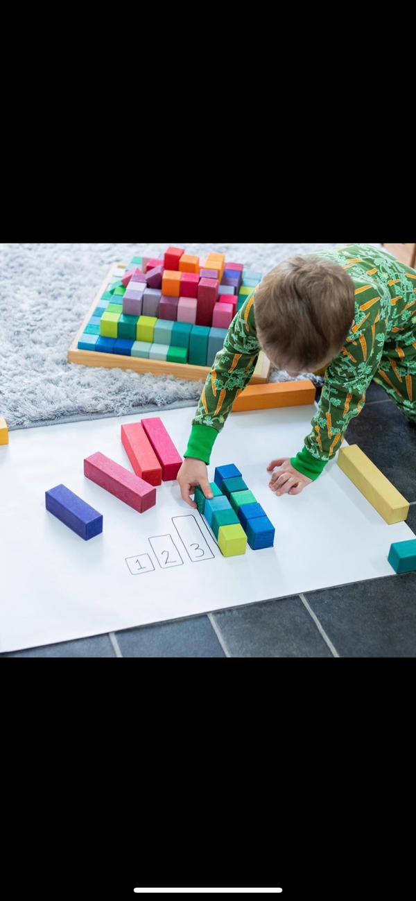 Grimms Large Stepped Pyramid building blocks