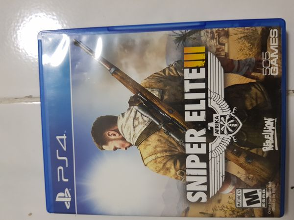 Sniper Elite 3 (Ps4 Game)