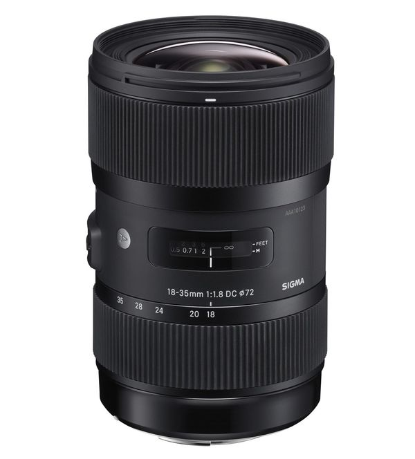 Sigma 18-35mm f1.8 DC HSM Art Lens For Nikon