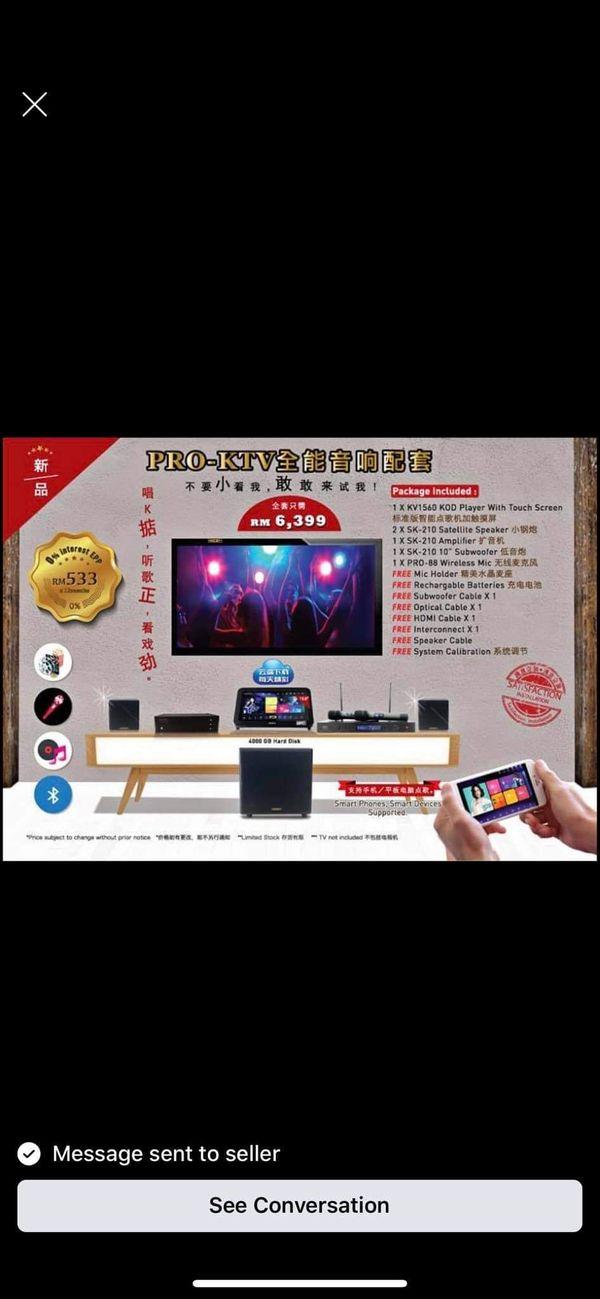 Pro Ktv karaoke system