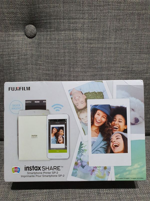 Fujifilm instax SHARE SP-2 Smartphone Printer (Silver)