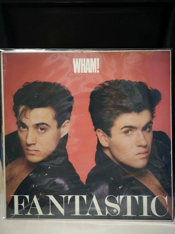 Wham! Fantastic Vinyl LP Record