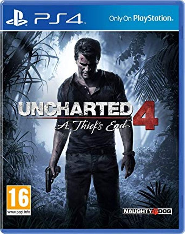 PS4 Uncharted 4 Thief's End