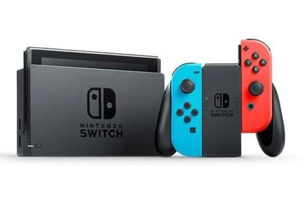 Nintendo Switch with Games + Free delivery