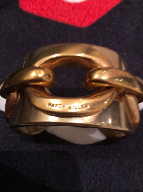 Karen millen gold bracelet