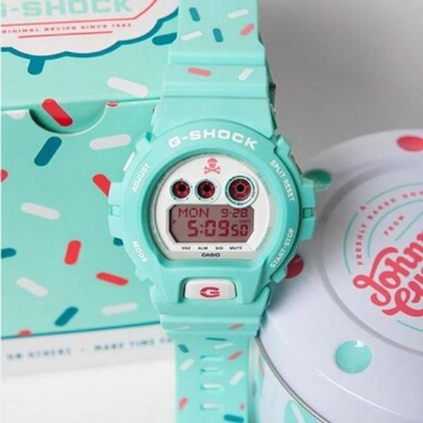 G-shock Johnny cupcake birthday party theme
