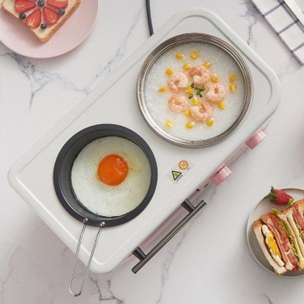 Pastel Pink 3-1 Breakfast Machine
