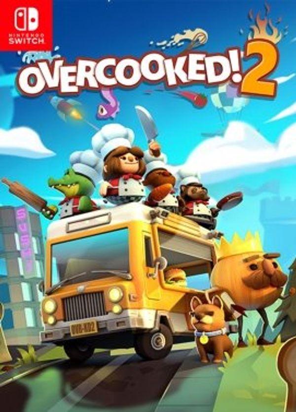 Nintendo Switch Game: Overcooked 2