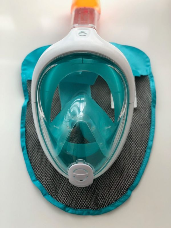 Snorkeling full face mask medium