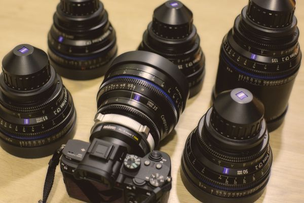 Sony A7iii With Zeiss CP.2 Prime Lenses